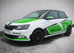 Fabia R5 WRC Dekor