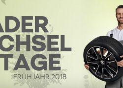 RÄDERWECHSELTAGE 2018