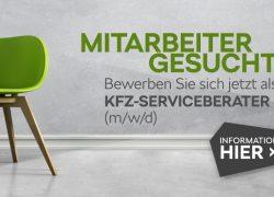 Mitarbeiter gesucht – Kfz-Serviceberater