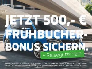 Frühbucherbonus plus Reisegutschein
