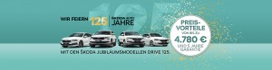 DIE ŠKODA DRIVE 125 JUBILÄUMSMODELLE